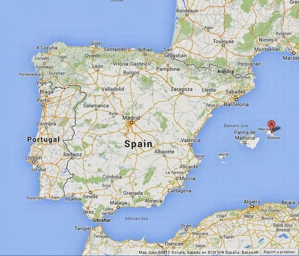 Menorca-on-Map-of-Spain