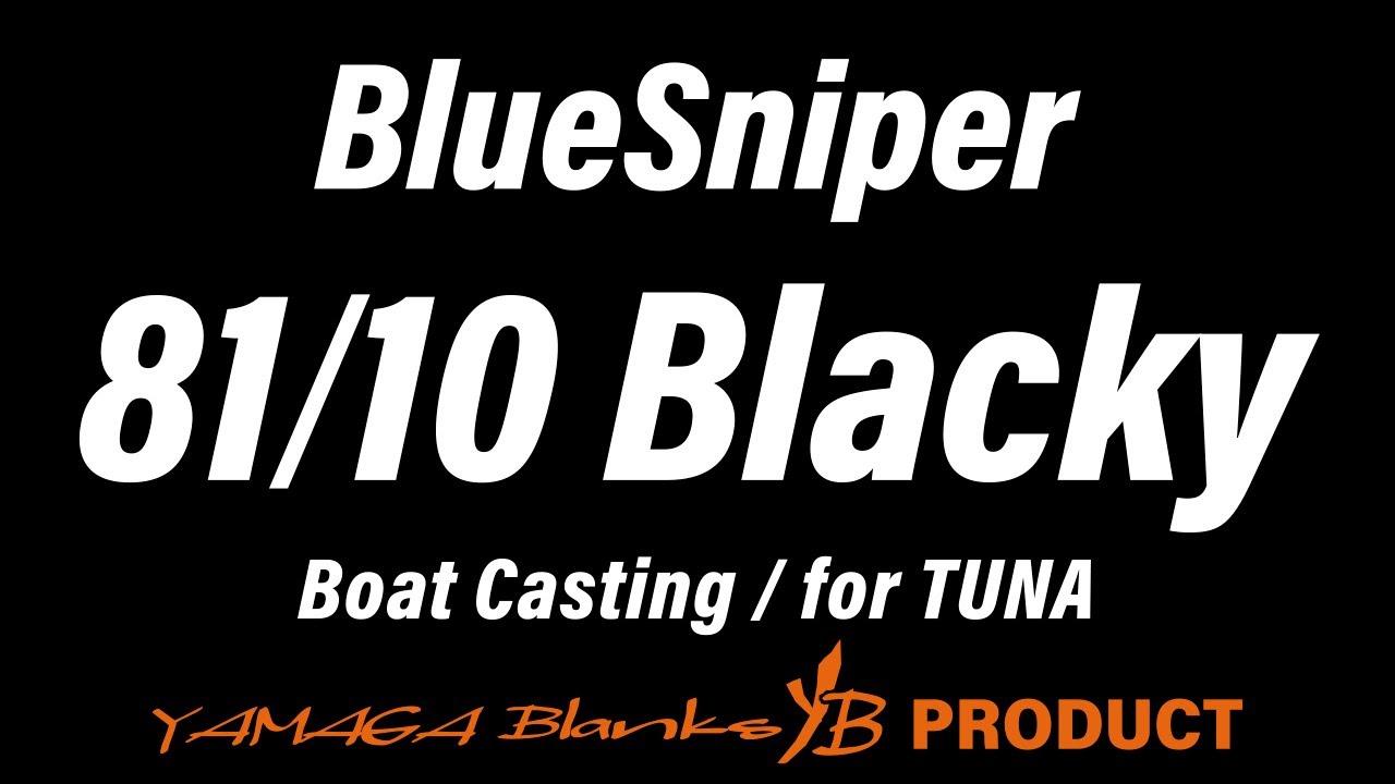 BlueSniper 81/10 Blacky