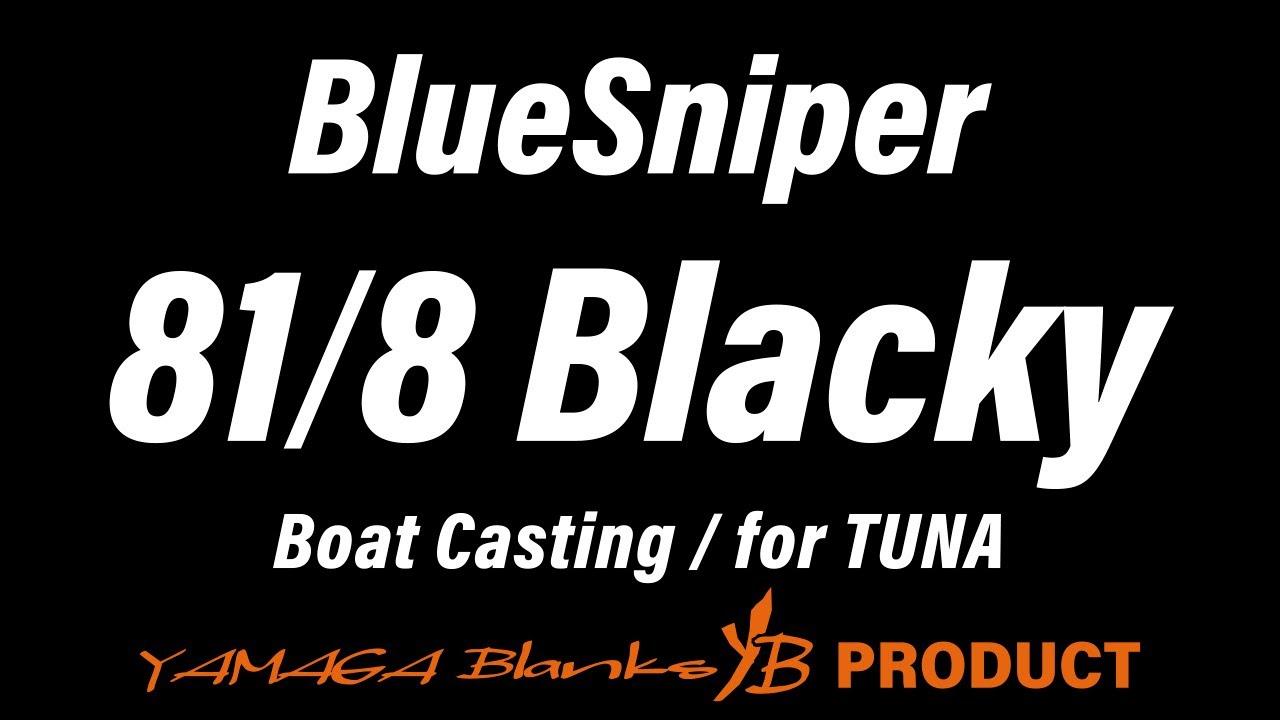 BlueSniper 81/8 Blacky